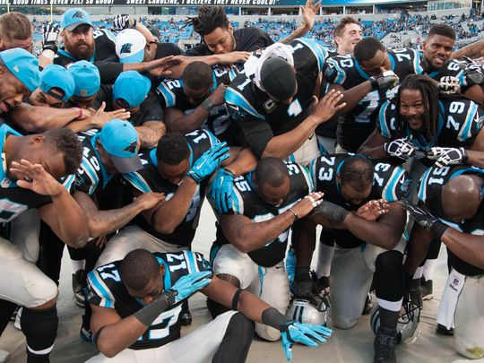 Panthers Dab